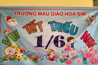 Hoạt động ngày Quốc tế thiếu nhi 1/6 của các bé trường MG Hoa Sim